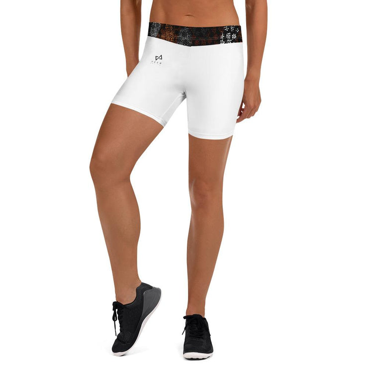 Kibole short shorts in White - Veer Active