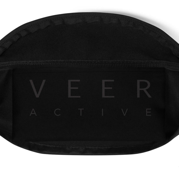 Safiyah Fanny Pack in Black - Veer Active