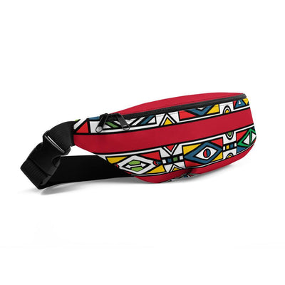 Safiyah Fanny Pack in Red - Veer Active