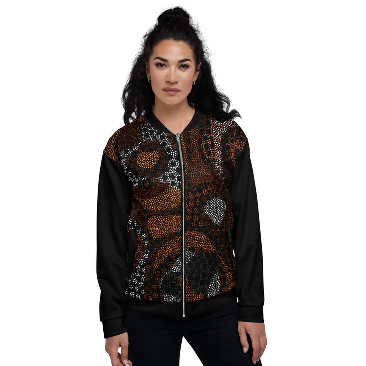 Sarabi Bomber Jacket in Black - Veer Active