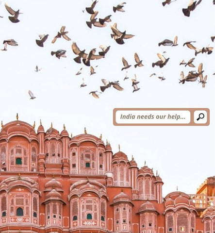 India needs our help