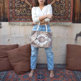 Middle Eastern Tote Bag - Ivory - LUCINE