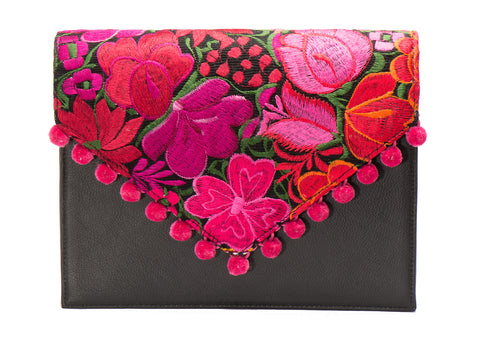 Alice Shoulder Bag - Hibiscus - LUCINE