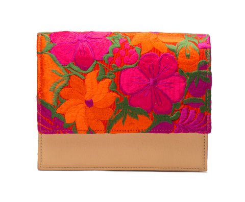 Charlotte Cross Body Handbag - Papaver - LUCINE