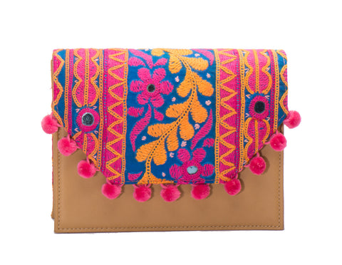 Lola Cross Body Handbag - Kavya - LUCINE