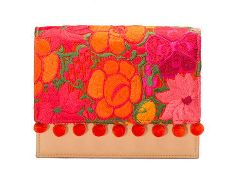 Charlotte Cross Body Handbag - Daylily - LUCINE