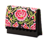 Charlotte Cross Body Handbag - Valentina Black - LUCINE