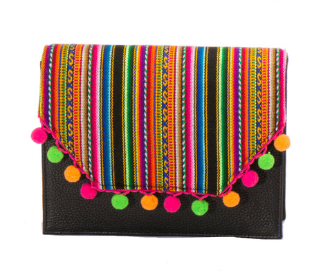 Lola Cross Body Handbag - Evelyn Multicolor - LUCINE