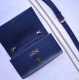 Convertible Belt Bag - BLUE - LUCINE
