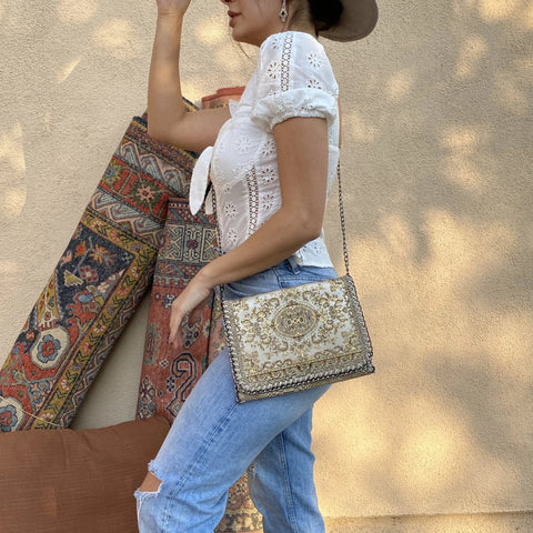 Middle Eastern Handbag - Beige