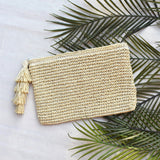 Tropics Pouch with Tassels