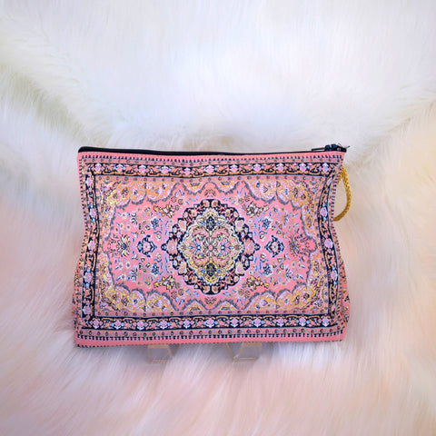 Middle Eastern Design Cosmetic Pouch - LUCINE