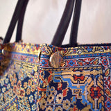 Middle Eastern Tote Bag - Navy Blue