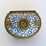 Vintage Indian Stone Mosaic Bag