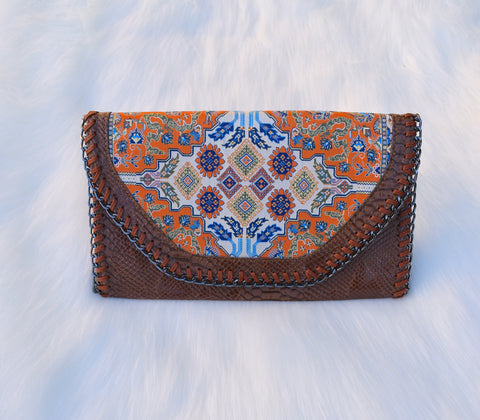 Middle Eastern Handbag - Brown - LUCINE