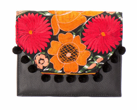 Lola Cross Body Handbag - Dahlia - LUCINE