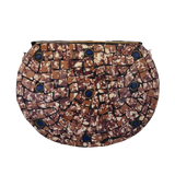 Vintage Indian Stone Mosaic Bag - LUCINE
