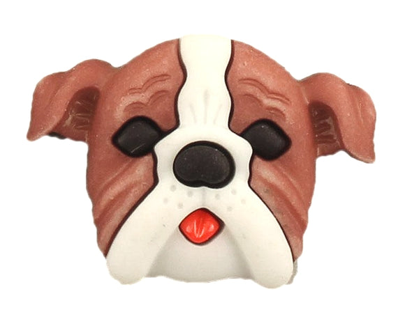 Buttons Galore Boxer Dog Novelty Buttons