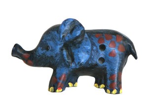 Cheri Strole Ela Funt Elephant Extra Large Novelty Buttons Blue Color