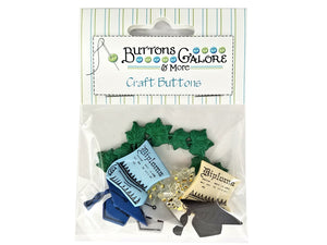 Buttons Galore Graduation Novelty Buttons Buttons Galore Theme Pack