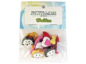 Buttons Galore Beauty School Novelty Buttons Buttons Galore Theme Pack