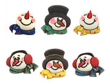 Buttons Galore Snowman Medley Novelty Buttons Holiday Fun Collection