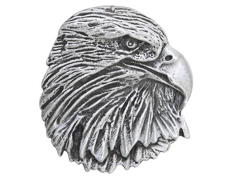 TreasureCast Eagle Raptor 1.25 inch Pewter Button Antique Silver Color