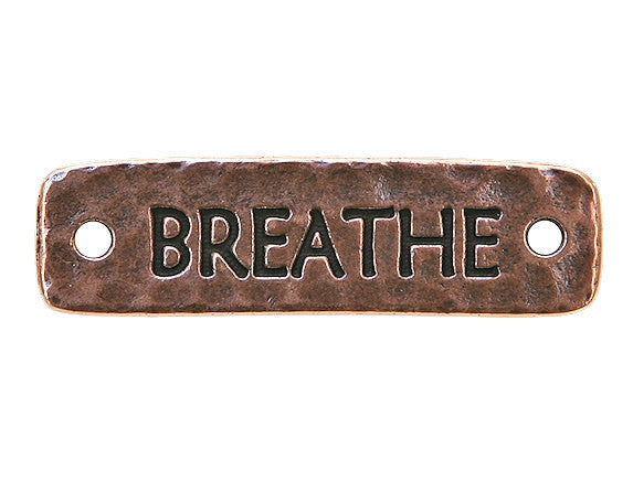 TierraCast Breathe Large Pewter Link Copper Plated