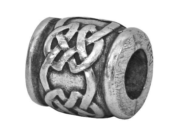 Danforth Celtic<br> 3/8 inch Pewter Bead<br> Antique Silver Color