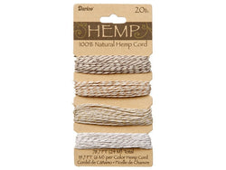 Hemp Cord Metallic Twist Color Set ( 20 lb 78.7 feet )