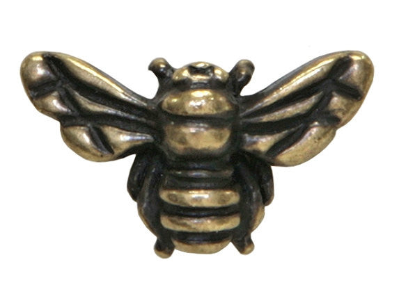 TierraCast Honey Bee 5/8 inch Brass Plated Pewter Bead