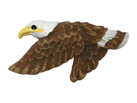 Bald Eagle Large Novelty Button Multi Color