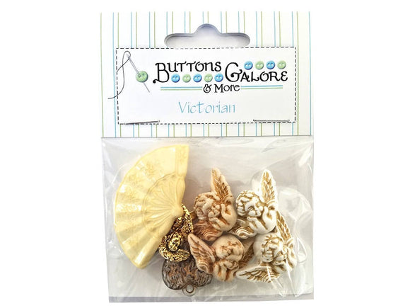 Buttons Galore Angelic Cherubs Novelty Buttons Victorian Collection