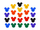 Disney Sew Thru Mickey<br> Novelty Buttons<br> Dress It Up Theme Pack
