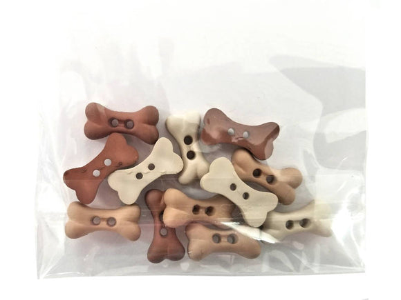 Doggie Bones<br> Novelty Buttons<br> Dress It Up Theme Pack