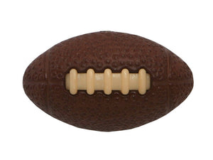 Dill Football 3/4 inch Novelty Button Brown Color
