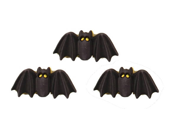 Buttons Galore Bats Novelty Buttons Happy Halloween Collection