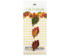 Buttons Galore Oak Leaves Novelty Buttons Fall Friends Collection