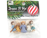 Christmas Good Shepherd Novelty Buttons Dress it Up Theme Pack