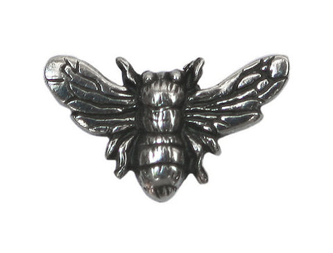 Danforth Bee 3/4 inch Pewter Button Antique Silver Color