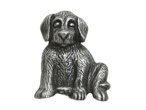 Danforth Max Puppy 7/8 inch Pewter Button Antique Silver Color