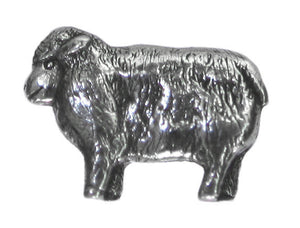 Danforth Lamb 7/8 inch Pewter Pewter Button Antique Silver Color