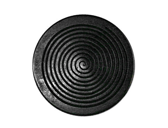 Noir 7/8 inch Metal Button Black Color