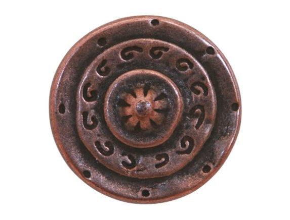 Dill Gladiator 3/4 inch Metal Button Antique Copper Color