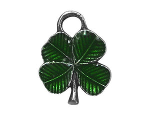 Danforth Clover 1/2 inch Shamrock Pewter Mini Charm