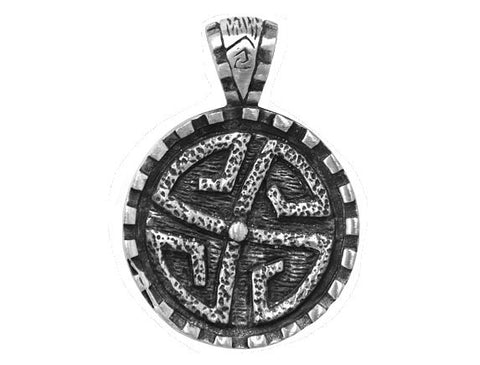 Olavi Harmony Pewter Elements Pendant Antique Silver Color
