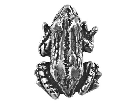 Danforth Bullfrog 13/16 inch Pewter Button Antique Silver Color