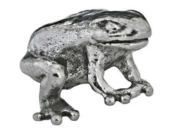 Green Girl Poison Dart Frog 7/8 inch Pewter Pendant Antique Silver Color