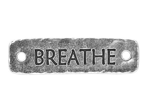 TierraCast Breathe Large Pewter Link Silver Plated