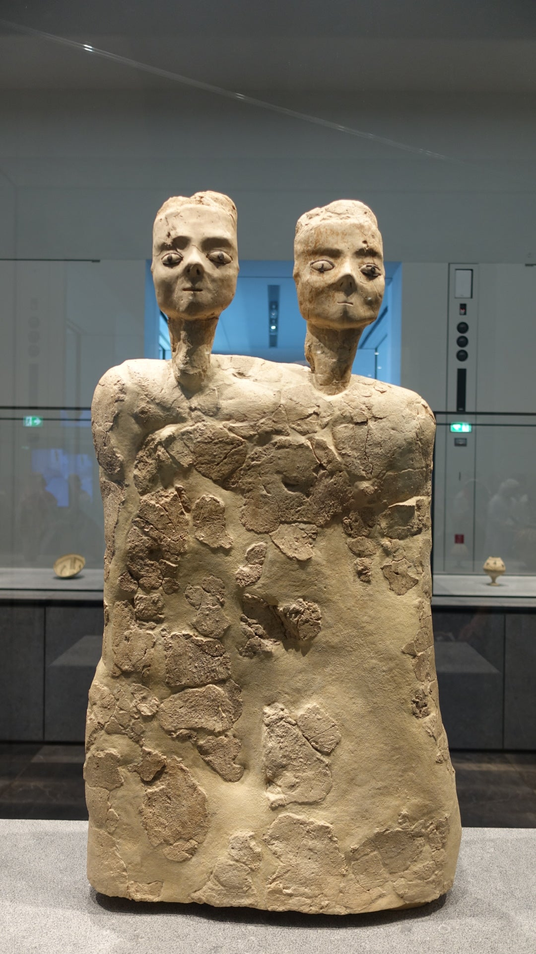 Two Headed Monument Louvre Abu Dhabi